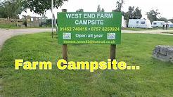 West end Farm Arlingham Campsite