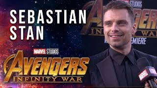 Sebastian Stan Live at the Avengers: Infinity War Premiere