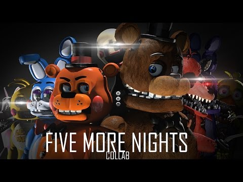 [SFM FNAF Collab] Five More Nights by JT Machinima