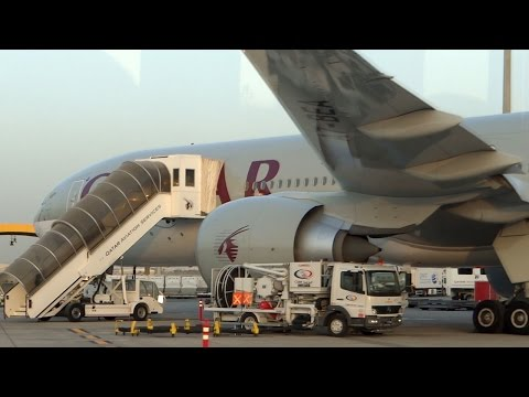 ᴴᴰ Hamad International Airport | Bus Ride