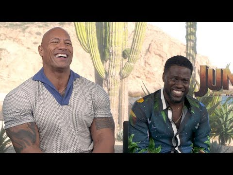 Kevin Hart Jokes Around With Pal Dwayne Johnson In First ET Interview Since Accident