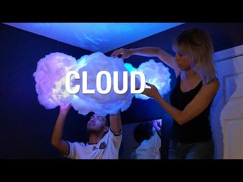 DIY Cloud Lamp ☁ | Superholly