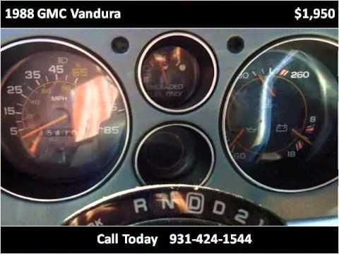 1988 gmc vandura used cars pulaski tn youtube for Bryan motors pulaski tn