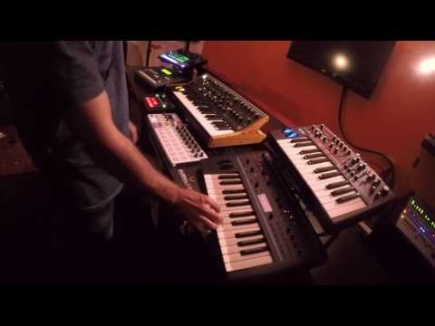 """Live Hardware Synth Jam - """"Anachronic"""" (Melodic Techno) performance by John Lead"""