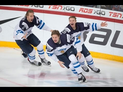2016 IIHF World Juniors - Gold Medal Game Finland vs Russia