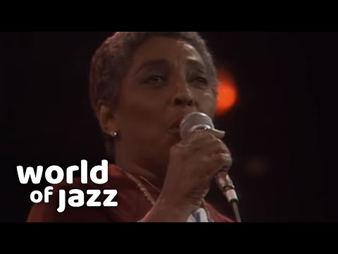 Carmen McRae live in The Hague, the Netherlands • 11-07-1987 • World of Jazz