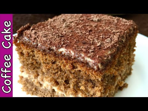 Coffee Cake Recipe It Tastes Like Tiramisu