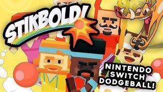 Stikbold A Dodgeball Adventure (Nintendo Switch) | DAMMIT JEROME!!