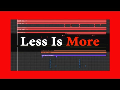 The Art Of Producing: Less Is More | Theo Nt | theont.com