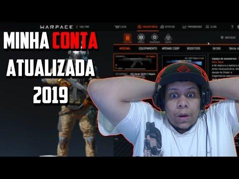 WARFACE - MINHA CONTA ATUALIZADA 2019 thumbnail
