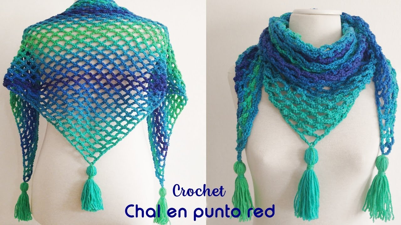 Chal En Punto Red A Crochet Youtube