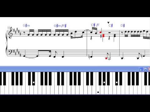 Partitura Piano Yo Te Amo Chayanne Demo Youtube