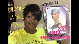 100th Video Live Stream||Unboxing Sensational UMA-DR613 & GIVEAWAY (CLOSED)|| Designs By Steffanie