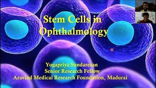 TalentsTeach - Ep.4: Stem Cells In Ophthalmology - Dr Yogapriya Ph.D.