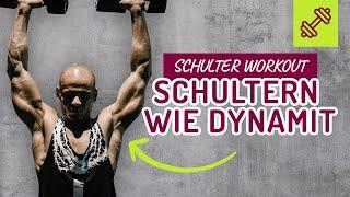 Schultern wie DYNAMIT 💥💪🏽 Schultertraining Schulter Workout