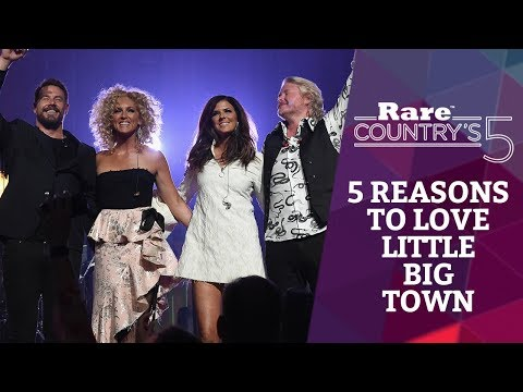 5 Reasons to Love Little Big Town   Rare Country's 5