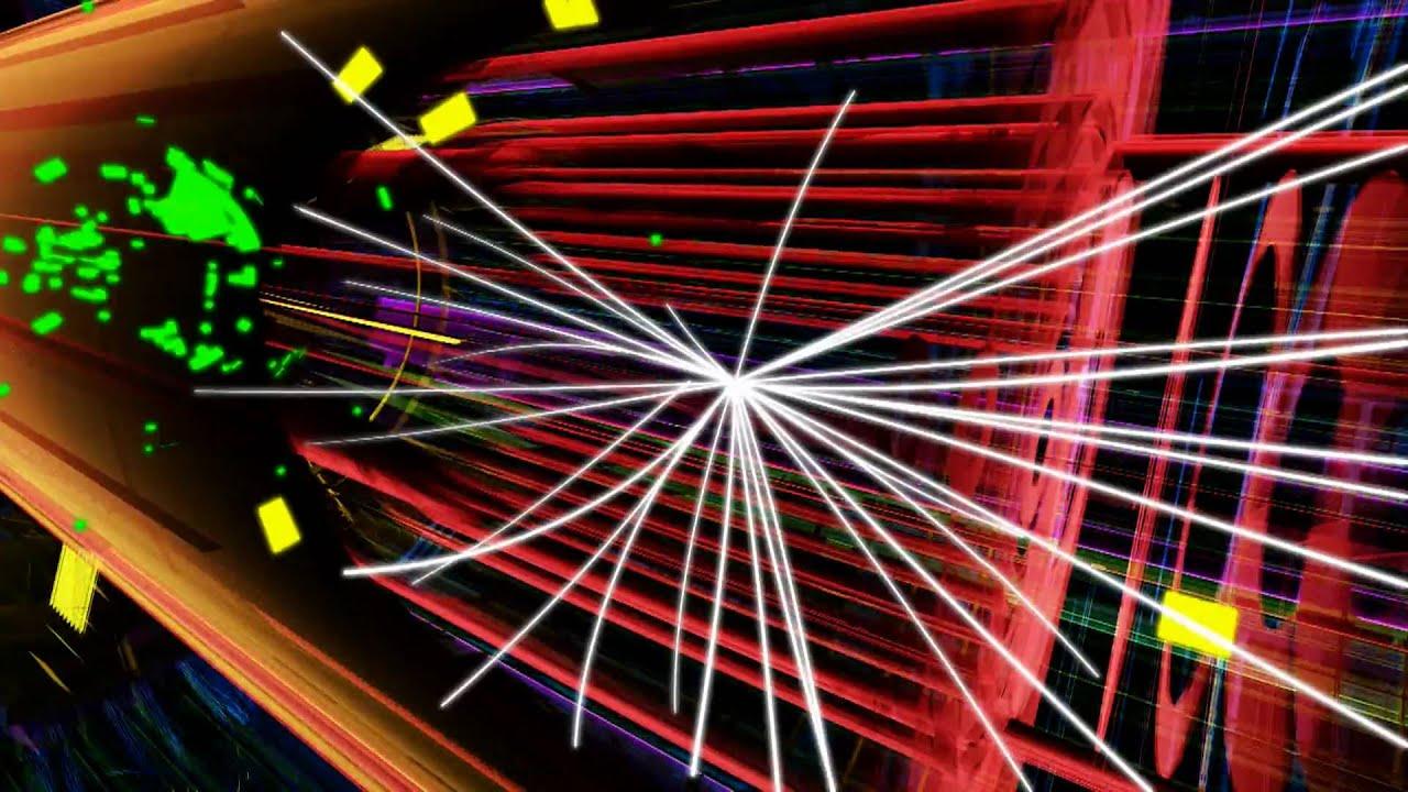 Large Hadron Collider 7 TeV Collsion Visualization [1080p ...