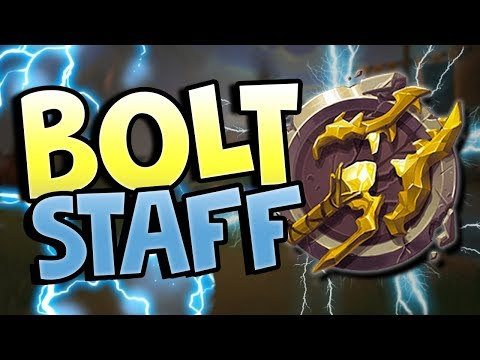 BOLT STAFF IS GOOD NOW?! | Realm Royale New Update!