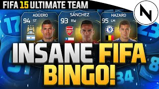 INSANE FIFA BINGO DISCARD w CAPGUNTOM - FIFA 15 Ultimate Team