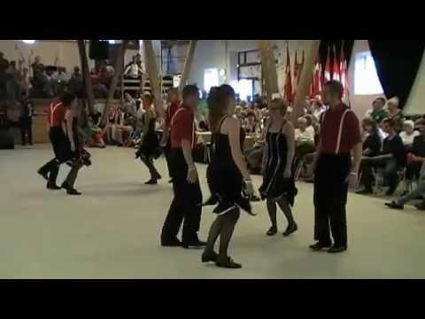 Landsstævne Frederikshavn 2014 Opvisning af gruppen Folkdanes