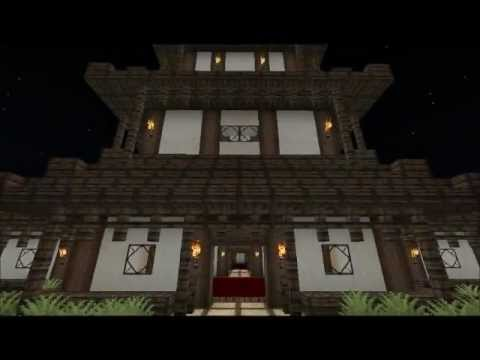 notre monde minecraft ep 5 temple japonais youtube. Black Bedroom Furniture Sets. Home Design Ideas