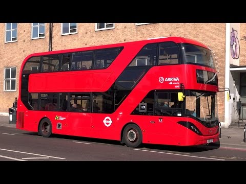 London Buses - Arriva in North London - Hybrid Double Deckers
