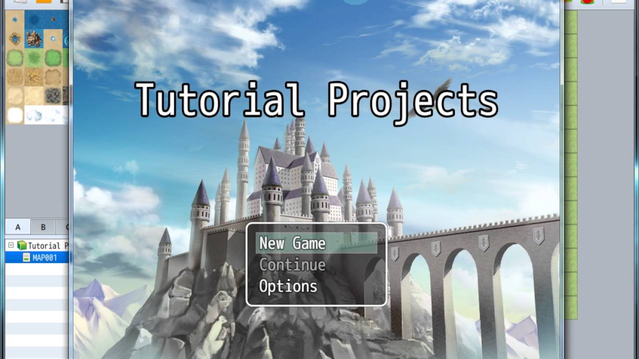 RPG Maker MV Tutorial for Teachers Part 1 Basics