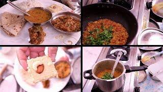 Indian Dinner Routine 2018 || Simple Dinner in 30 mins || Indian youtuber Neelam