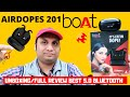 BoAt Airdopes 201💥True Wireless Earbuds |BT V5.0 IPX 4 Sweat And Water Resistance Unboxing/Review
