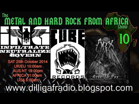 The Metal & Hard Rock From Africa Show Episode 10 part 2