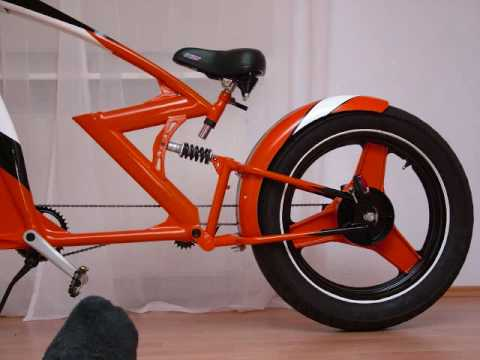 Watch Out For Bicycles >> chopper bicycle xtreme custom bike my 2nd build - YouTube