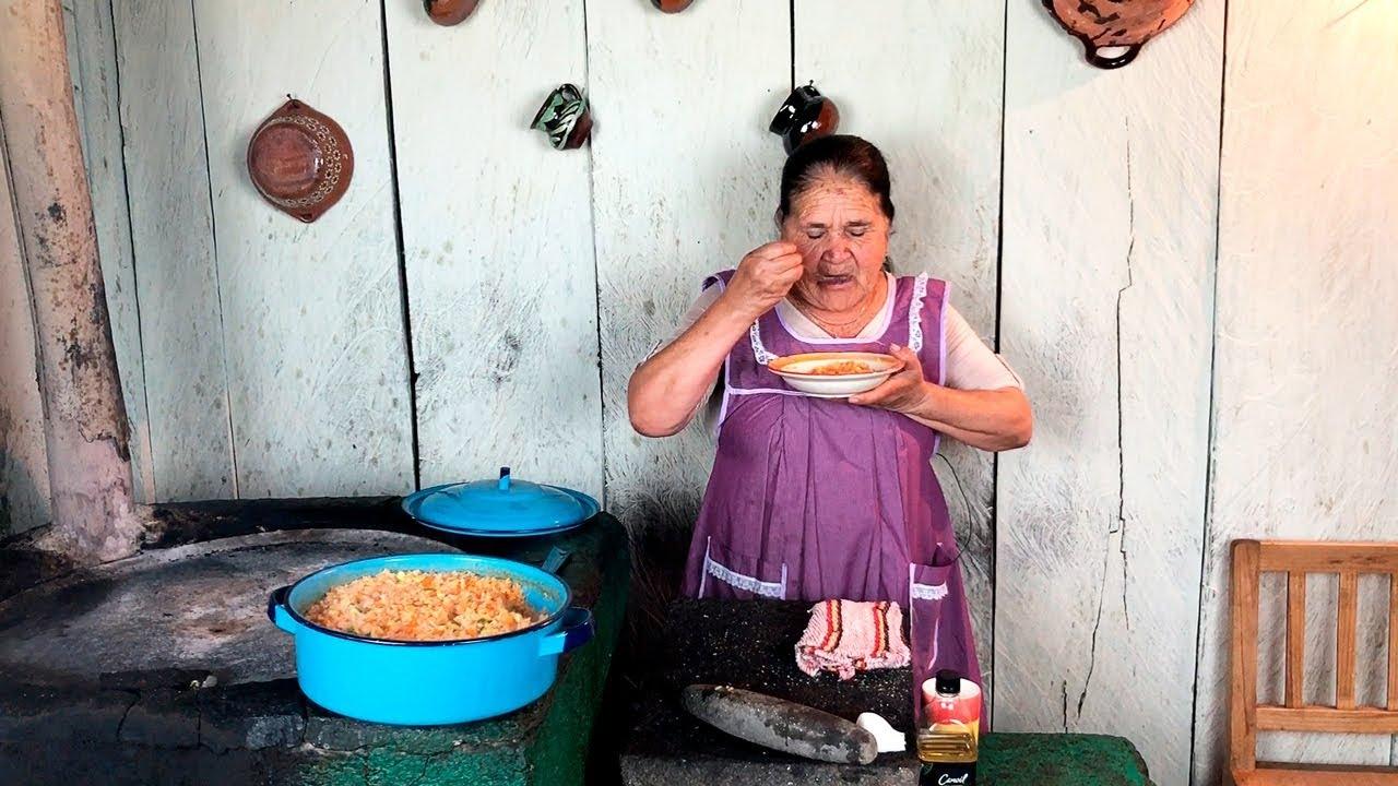 Arroz Rojo De Mi Rancho A Tu Cocina Youtube