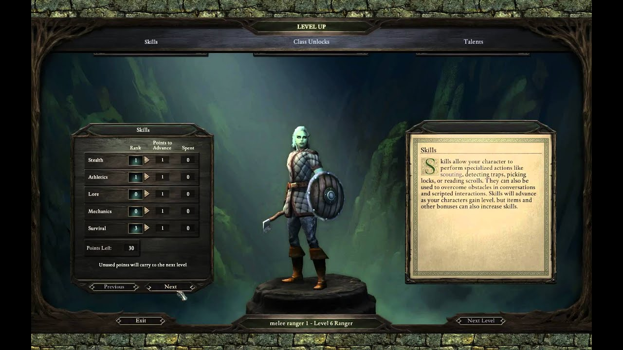 new appearance for whole family get new Pillars of Eternity: White March 2 - Melee Ranger Build
