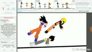 It's my best anime fight haha