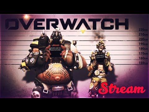 Overwatch - стрим С ДЕВУШКОЙ ► ХАОС ► КАЛИБРОВКА