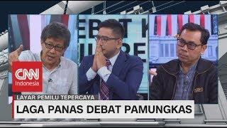 Seru! Debat Rocky Gerung vs Yustinus Prastowo Pascadebat Ke-5 Pilpres 2019 - Layar Pemilu Tepercaya
