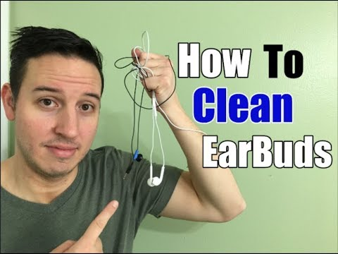How To Clean Earbuds/AirPods | Remove EarWax