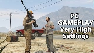 Grand Theft Auto V (GTA 5) - Target Practice Gameplay PC Maximum / Very High Settings