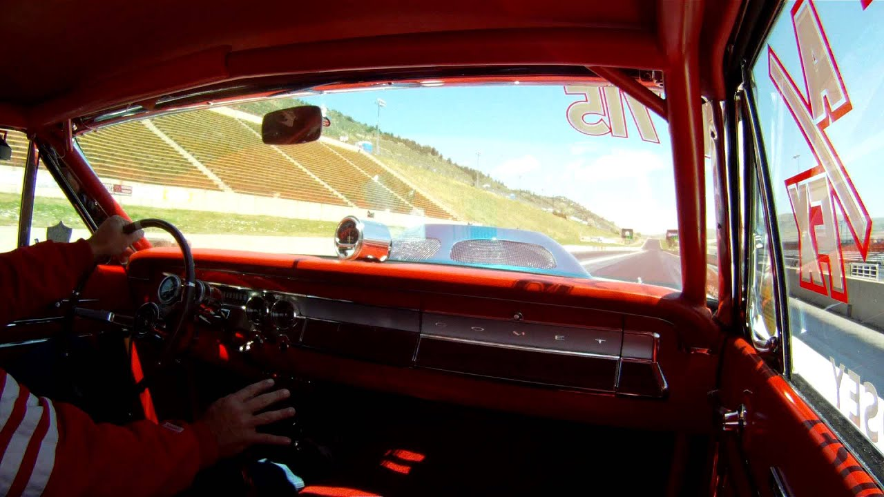 1964 A/FX Comet interior view All Ford Day 2011 Bandimere