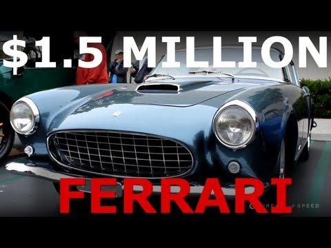 $1.5 Million 1956 Ferrari 250 GT Coupe Speciale Spotted in California - Bureau of Speed