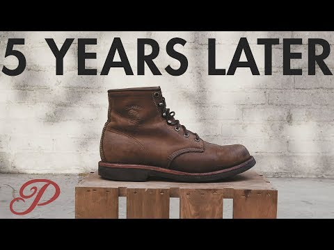 5 Years Later: Chippewa Boots Follow-up Review