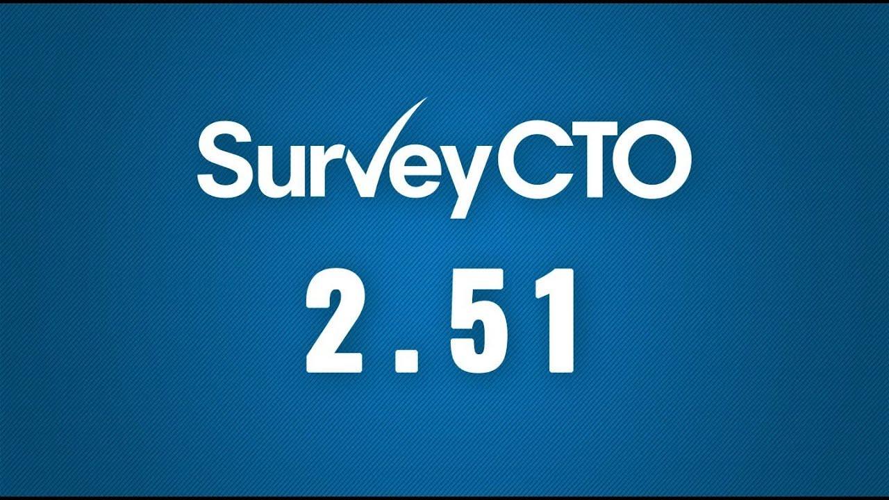 Release notes | SurveyCTO