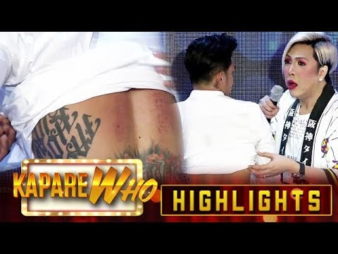 Ion shows his wounds from Penance | It's Showtime KapareWho