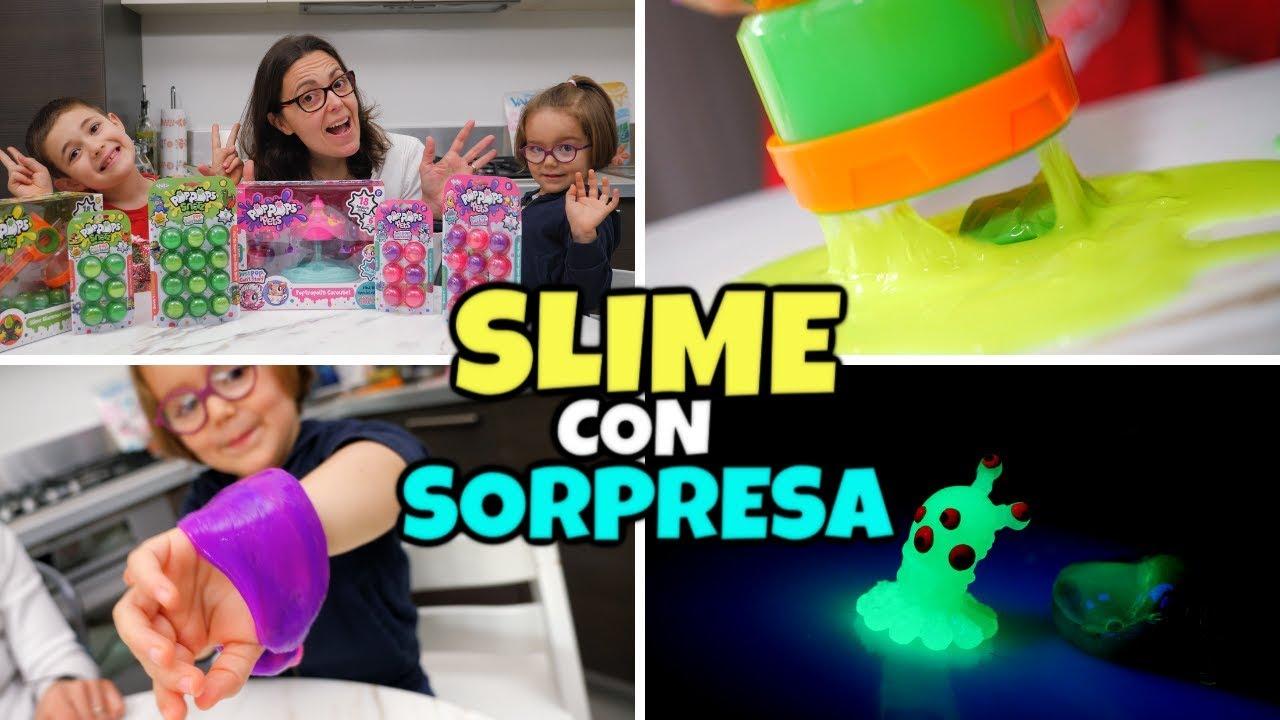 SLIME POP POPS DI COPPIA: Sorprese nello Slime da Scoppiare