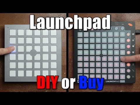 Launchpad || DIY or Buy || Keyboard Matrix & MIDI Tutorial