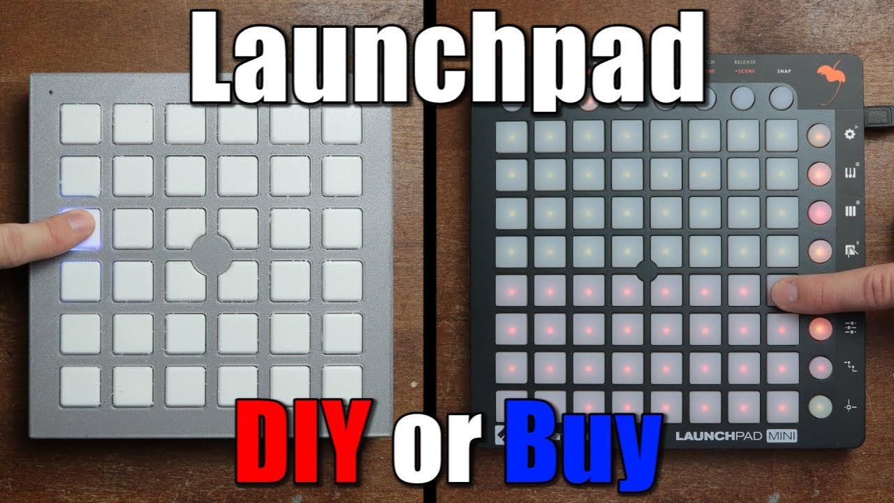 launchpad diy or buy keyboard matrix midi tutorial youtube. Black Bedroom Furniture Sets. Home Design Ideas