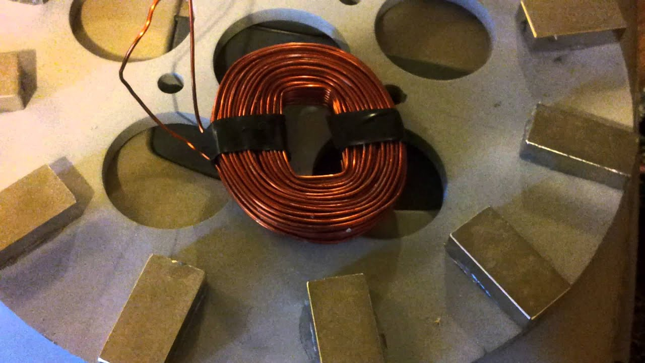 Coils For 1kw Wind Turbine Youtube