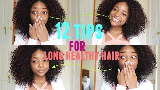 HOW TO GROW LONG CURLY HAIR | 12 TIPS