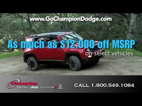 Dodge & Jeep PRESIDENTS DAY SALE - Orange County, Santa Monica CA - RAM - EVENT - 800.549.1084