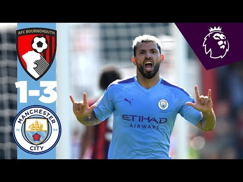 HIGHLIGHTS | Bournemouth 1-3 Man City | Aguero, Sterling, Wilson.